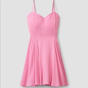 Aritzia pink Talula dress